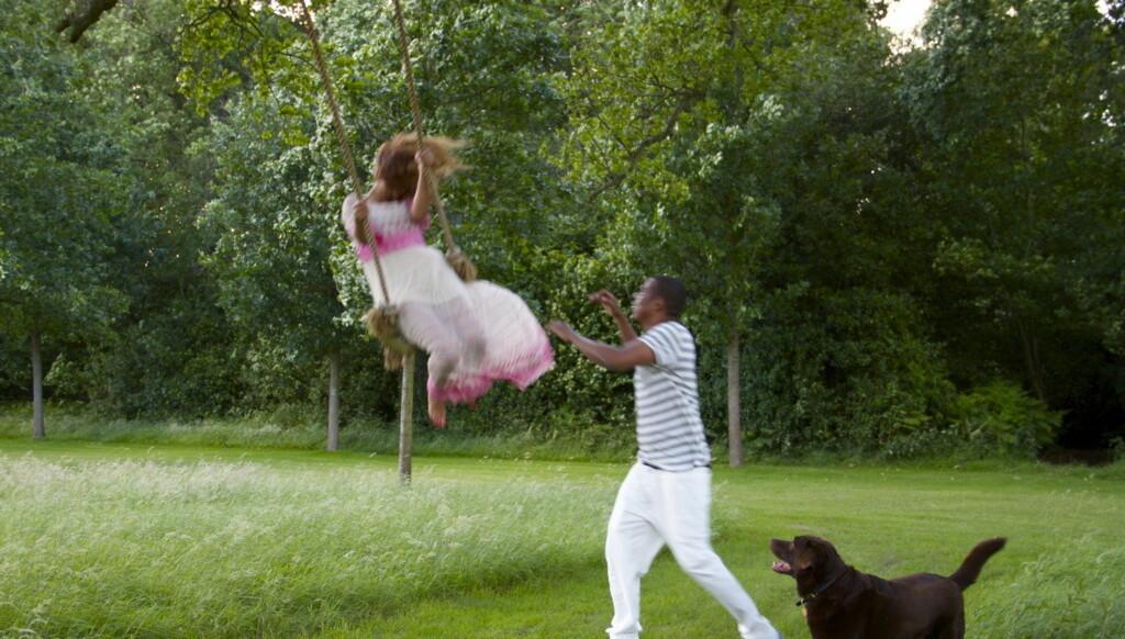 FORELSKET: Beyoncé og Jay-Z har vært sammen i ti år, og er fortsatt like forelsket.  Foto: beyonce.tumbir.com