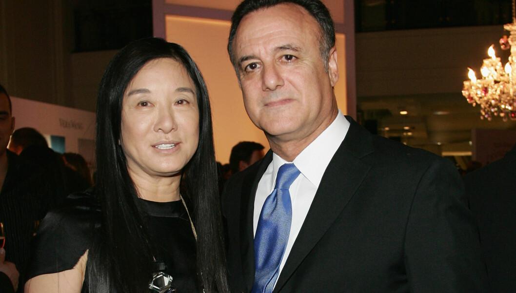 <strong>BRUDD:</strong> Stjernedesigner Vera Wang og ektemannen Arthur Becker har gått hvert til sitt.  Foto: All Over Press