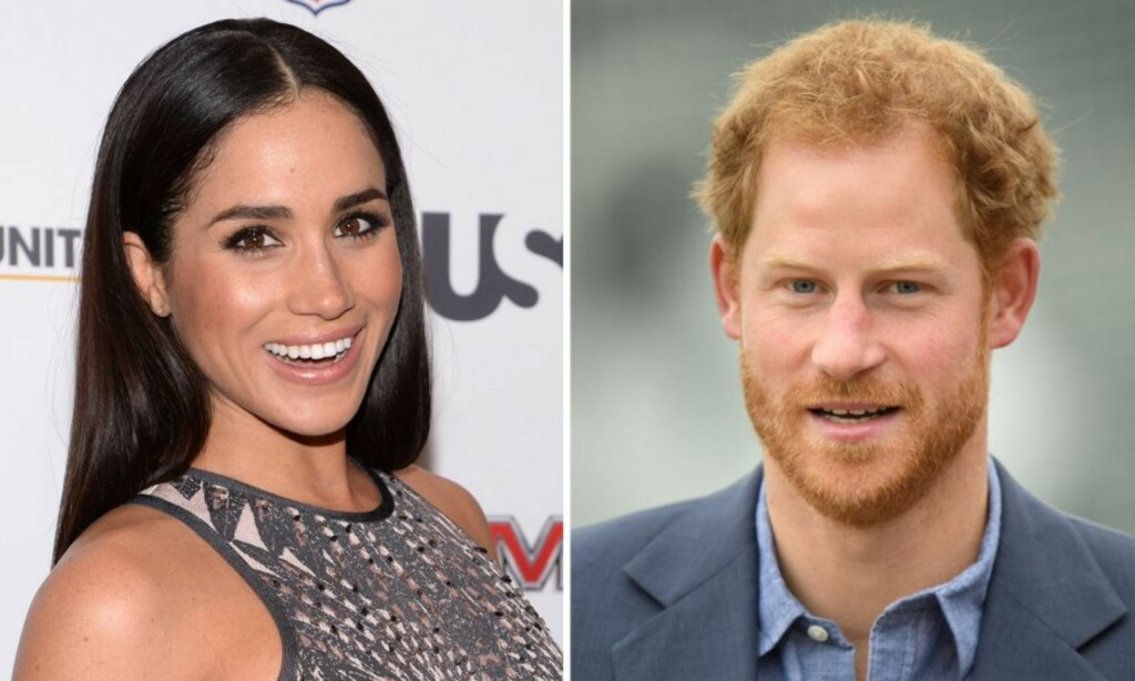 NÅ ER ROMANSEN BEKREFTET: Meghan Markle og prins Harry er offisielt et par.  Foto: NTB scanpix