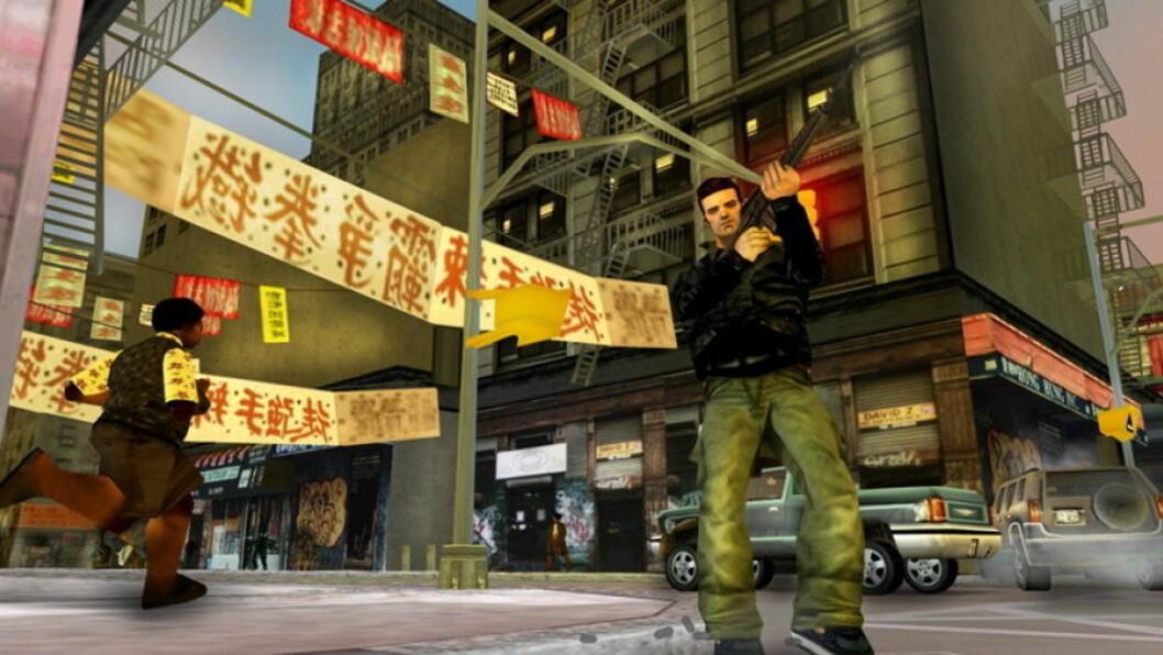 <strong>DÅRLIG FORSKNING:</strong> Det er ikke mulig å konkludere generelt med at voldelige dataspill gjør barn og unge aggressive, skriver innleggsforfatterne. Illustrasjon fra «Grand Theft Auto III»