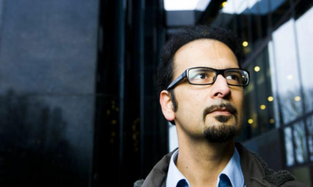 <strong>PRESSER NORGE:</strong> Den norsk-iranske menneskerettighetsforkjemperen Mahmood Amiry-Moghaddam mener norske myndigheter må reagerer sterkere på henrettelsene. Foto: Berit Roald / Scanpix