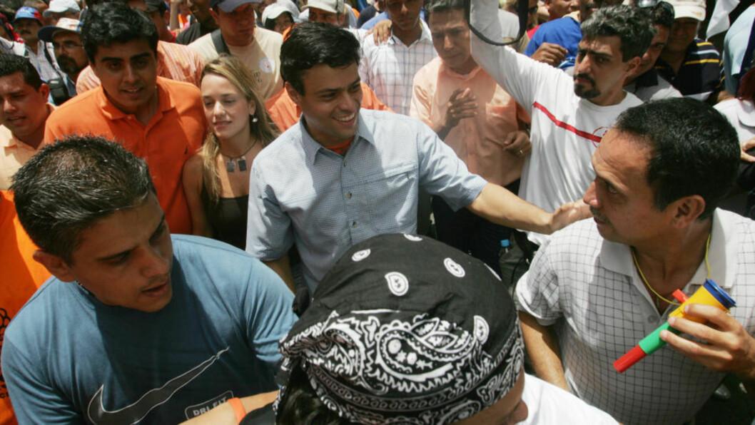 <strong>DEBATT RUNDT «OSLO FREEDOM FORUM»:</strong> Leopoldo López (bildet) får svar på sitt innlegg «Jeg er ingen kuppmaker».  Foto: Reuters