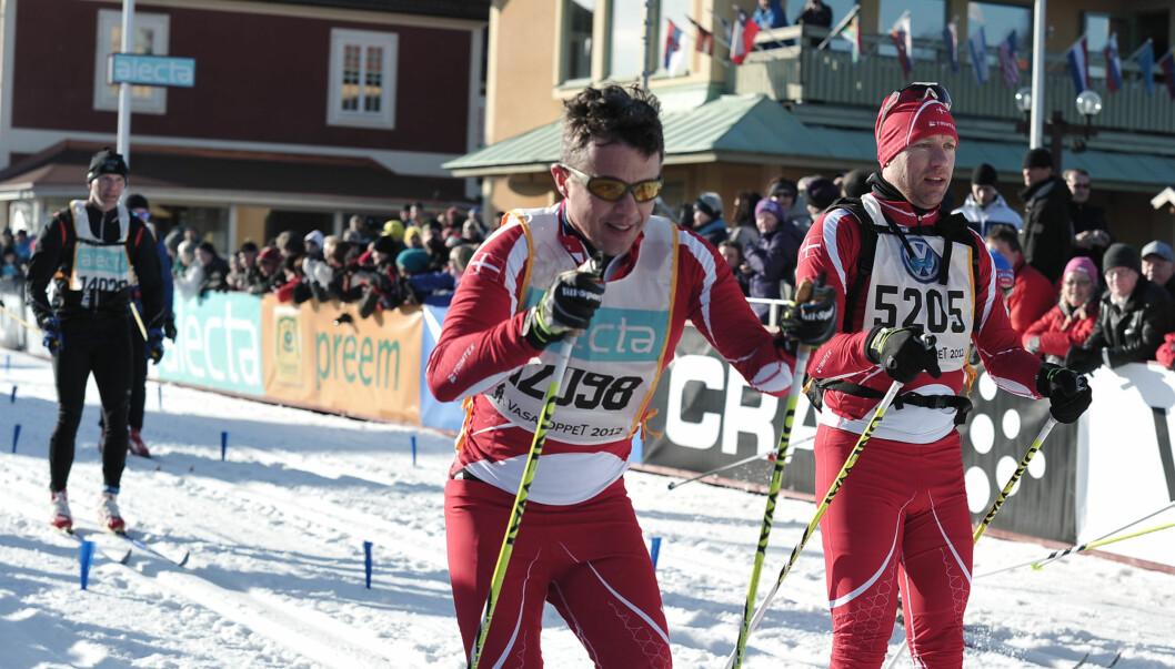 <strong>VASALOPPET:</strong> Kronprins Frederik gikk i vinter Vasaloppet på tiden 6.36,32. Foto: STELLA PICTURES