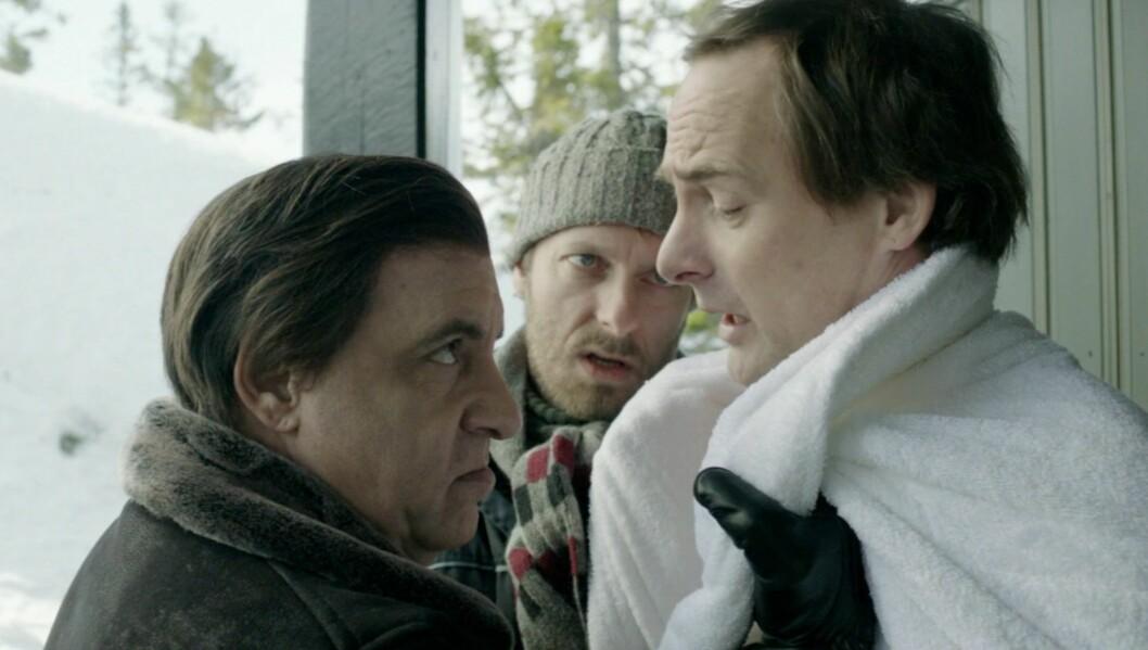 <strong>SUKSESS:</strong> Steven van Zandt har gjort stor suksess med sin rolle som den tidligere mafiosoen Frank Tagliano i NRK-serien «Lilyhammer». Foto: NRK