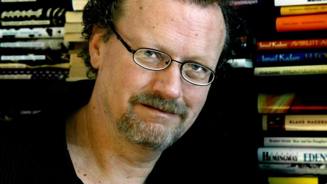 <strong>ANMELDERRÅD:</strong> Fredrik Wandrup, litteraturansvarlig i Dagbladet, gir gir råd til ferske litteraturanmeldere. Foto:  Steinar Buholm/Dagbladet.