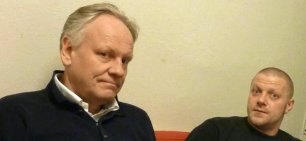 <strong>LANG KAMP:</strong> Advokat Sigurd J. Klomsæt (t.v.) har i flere år arbeidet for å få gjenopptatt Viggo Kristiansens sak. I morgen sier gjenopptakelseskommisjonen sitt. Foto: Eivind Pedersen Foto: Eivind Pedersen