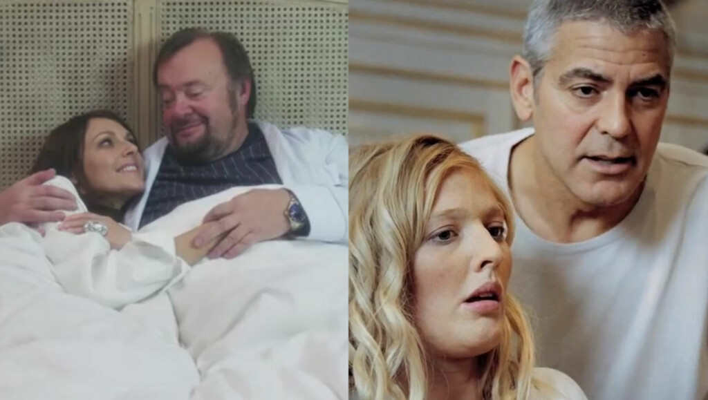SNAKKER UT: Grudt og Marvin Wiseth parodierte DNB-reklamen med George Clooney. Det falt ikke i smak, og videoen måtte fjernes.