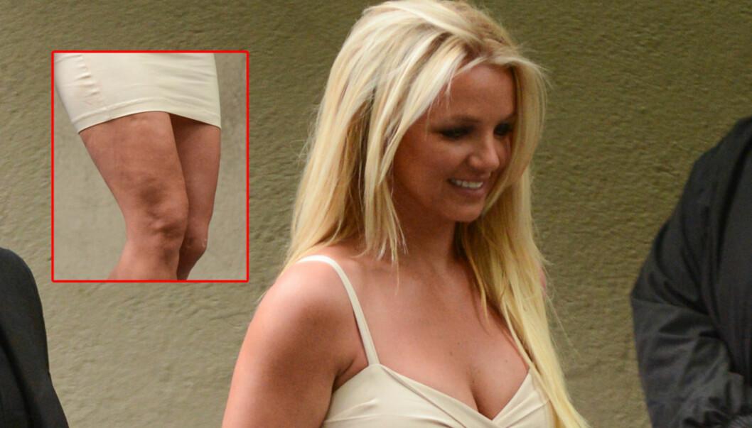 KNUST: Cellulitt-bildene skal ha knust Britney Spears, som nå har lagt om livsstilen sin. Foto: All Over Press