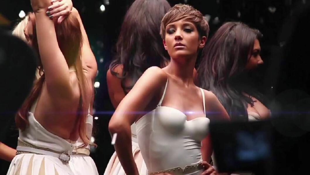 HØYT PÅ SEXY-KÅRING: Da FHM kåret verdens 100 mest sexy kvinner, kom Frankie Sandford på 19. plass. Foto: FameFlynet Norway