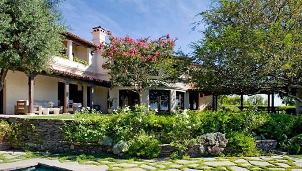 PRIS: 65 millioner kroner skal Ryan ha for huset sitt i 755 Stradella Road i Bel Air, Los Angeles.  Foto: Stella Pictures
