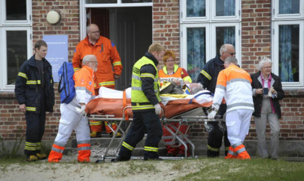 <strong>36 SKADD:</strong> Årsaken til ulykken er så langt ikke kjent. Foto: Jesper Kristensen / Scanpix