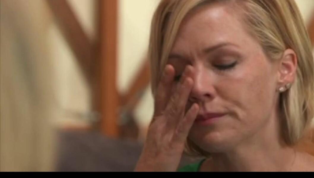 SINT OG TRIST: - Jeg vet ikke om jeg er sint på meg selv for at jeg ikke var god nok, eller om jeg er sint på ham for at han ikke ser på meg som god nok, sier Jennie Garth.