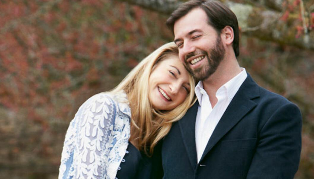 FORLOVET: Kronprins Guillaume er nå forlovet med hertuginne Stéphanie de Lannoy. Foto: Kongehuset