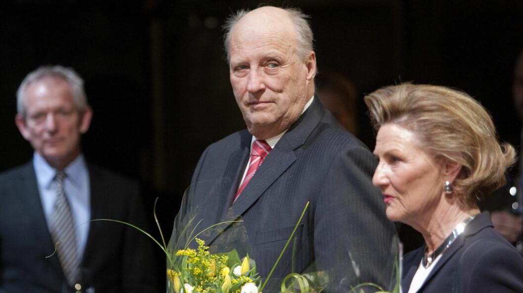 I POLEN: Tirsdag dro kong Harald og dronning Sonja til Polen der de skal være frem til 11. mai.  Foto: NTB scanpix