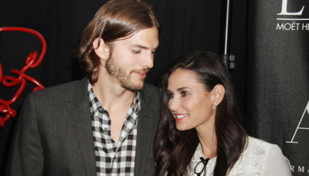 OVER OG UT: Etter en tøff tid, har Demi Moore lagt ekteskapsbruddet med Ashton Kutcher bak seg. Foto: Stella Pictures