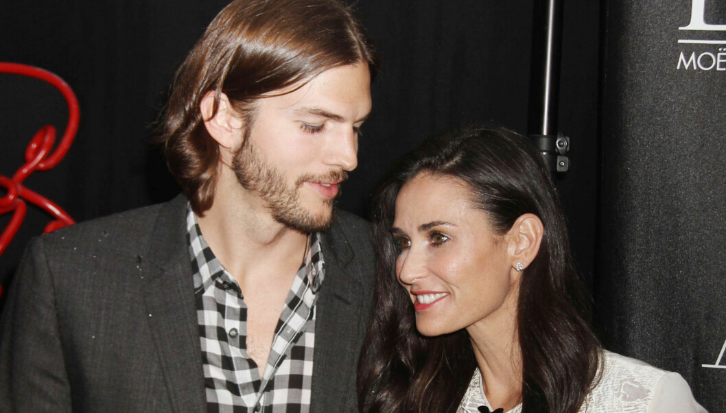 SKILSMISSEN PÅ VENT: Ifølge kilder rundt Ashton Kutcher og Demi Moore er paret nå klare til å gi forholdet en ny sjanse. Foto: FameFlynet Norway