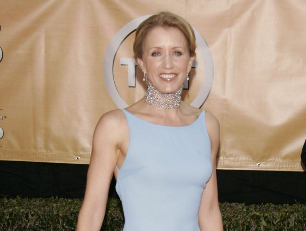 FØR: Slik så Felicity Huffman tidlig i 2005, på Annual Screen Actors Guild Awards. Foto: Stella Pictures