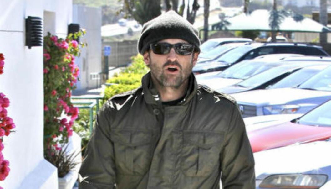 HELTEMODIG INNSATS : Patrick Dempsey får skryt for sin innsats etter at han tirsdag reddet en tenåringsgutt ut av et bilvrak i Malibu. Foto: Stella Pictures