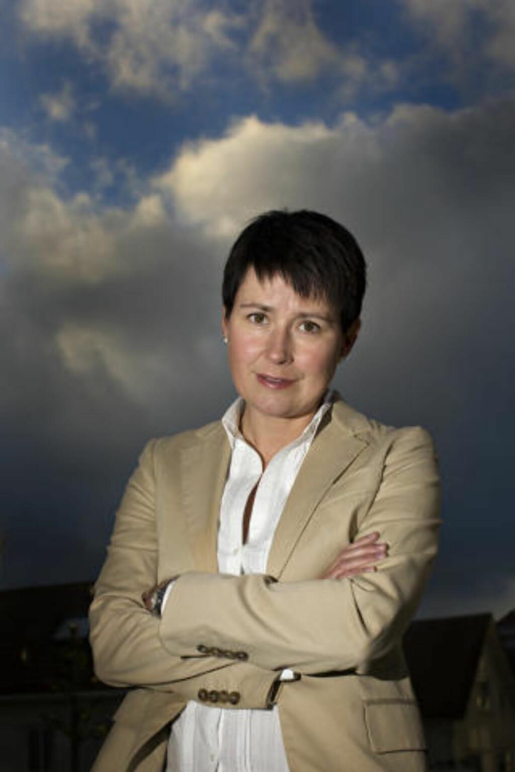 FÅR STØTTE: Advokat Ingrid Bergum leder Fordelingsutvalget i Barne- og likestillingsdepartementet (BLD). Foto: Marie von Krogh