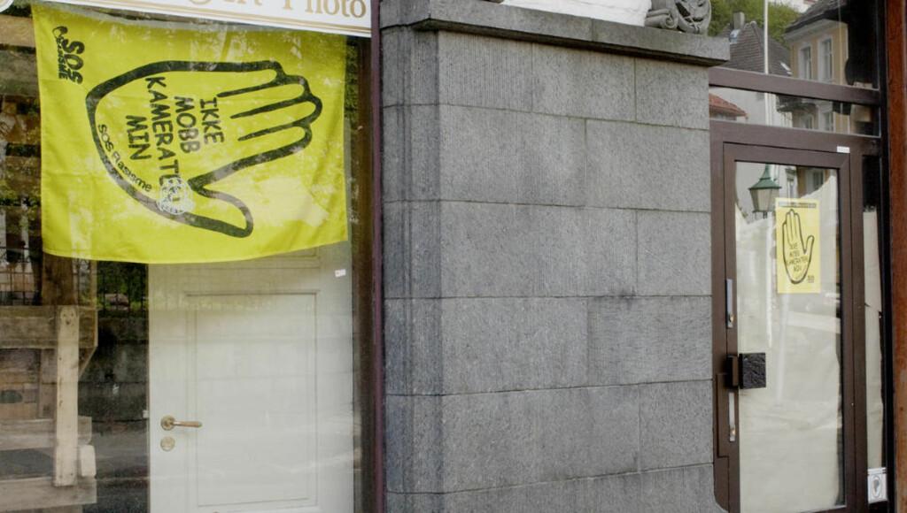 GRANSKES: SOS Rasisme granskes av en rekke instanser. Her er kontorene i Bergen sentrum. FOTO: PAUL S. AMUNDSEN
