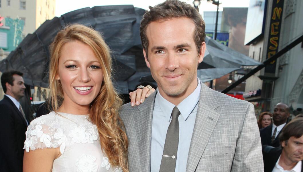 HALVT ÅR: Blake Lively og Ryan Reynolds har kun vært et par i seks måneder, men ser seg om etter et sted å bo. Foto: All Over Press