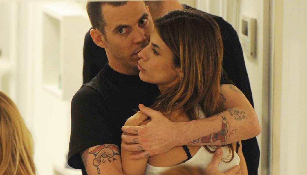 <strong>DUMPET:</strong> Steve-O dumpet Elisabetta Canalis etter et tre måneder langt forhold fordi han frykter at hennes ville livsstil truer han edruelige liv. Foto: STELLA PICTURES