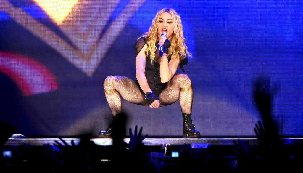 REKORD: Albumet MDNA solgte 359.000 kopier den første uken, og ser ut til å kun selge 46.000 kopier i uke to. Foto: AP