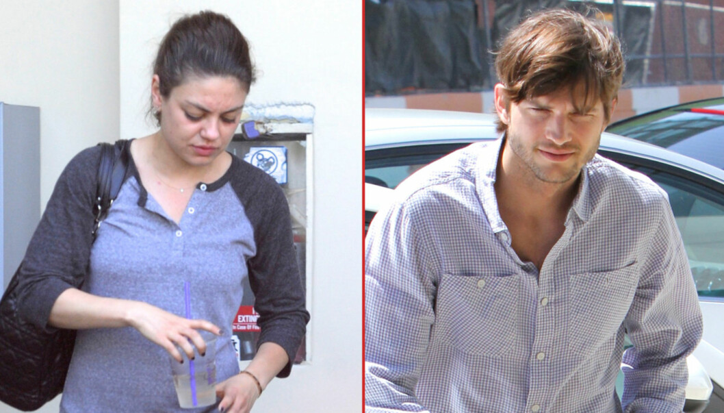 HETE FØLELSER: Hollywoodstjernene Mila Kunis og Ashton Kutcher skal ha blitt observert på en romantisk helgetur til Santa Barbara etter at de to skal ha tilbragt mye tid sammen den siste tiden. Foto: All Over Press