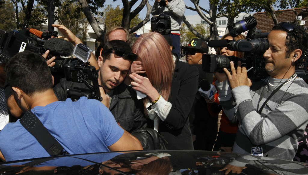 TØFF TID: Amanda Bynes ble fredag arrestert for fyllekjøring i Los Angeles. Foto: All Over Press