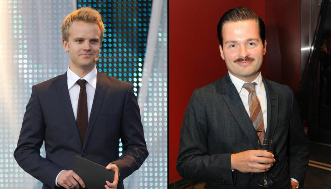LAGER NRK3-PROGRAM: Erik Solbakken og Hasse Hope er til høsten klar med et humorprogram, som skal sendes på NRK3. Foto: Stella Pictures