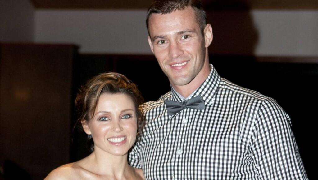 SLUTT: Tirsdag annonserte Dannii Minogue og kjæresten Kris Smith at forholdet deres er over etter fire år sammen.  Foto: All Over Press