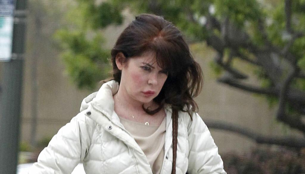 AVHENGIG AV PLASTISK KIRURGI: Flere eksperter frykter at skuespilleren Lara Flynn Boyle har fått varige skader i ansiktet på grunn av at hun har tatt for mange plastiske operasjoner. Foto: Stella Pictures