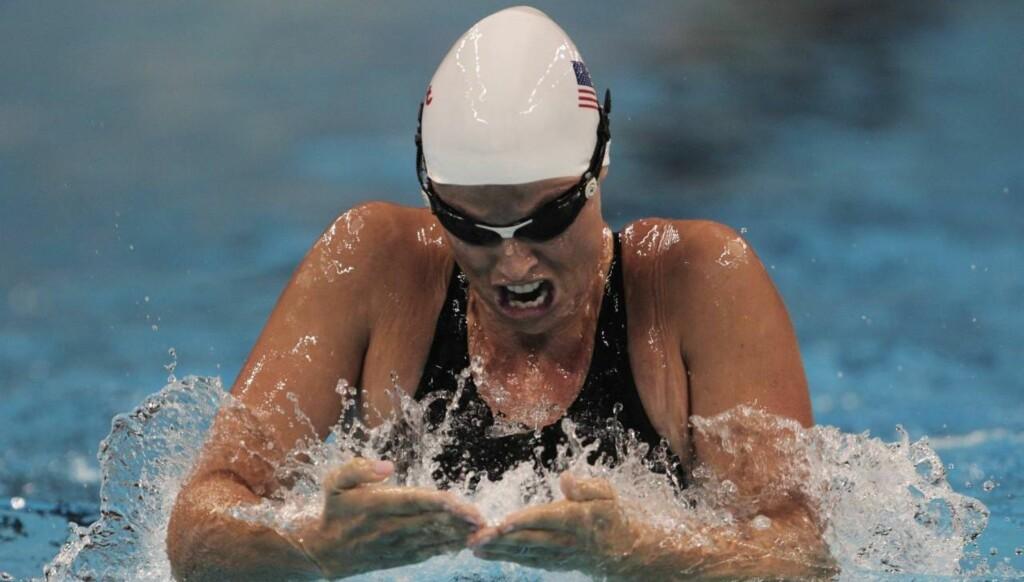 HÅPER PÅ NY SUKSESS: Amanda Beard svømmer fortsatt aktivt og håper på ny suksess under sommerens OL i London. Foto: All Over Press