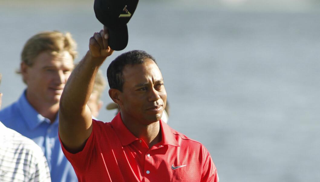 <strong>SKANDALE:</strong> Tiger Woods skal ha vært utro med over 100 kvinner. Foto: NTB scanpix