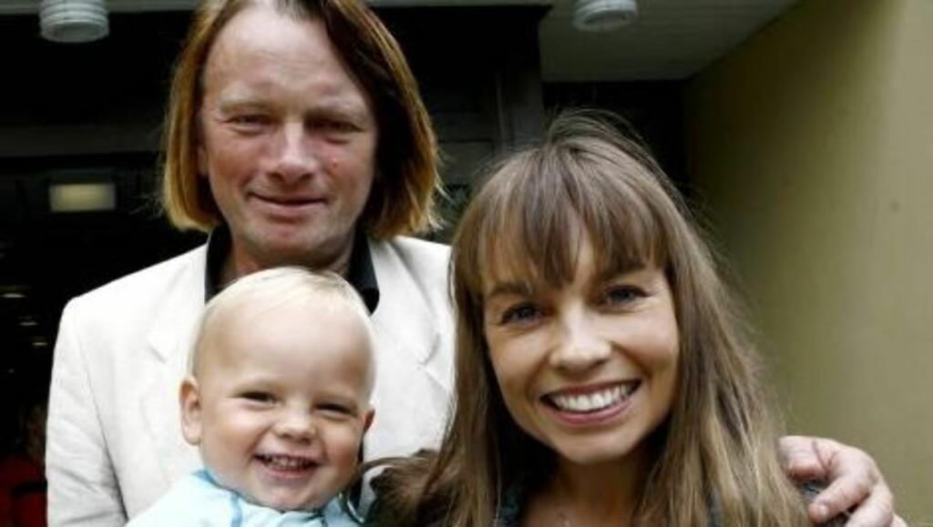FAMILIEKJÆR: Jan Eggum og Kaia Huuse har barne Bastian (6) og Hennika (bildet, 3) sammen. Foto: NTB scanpix