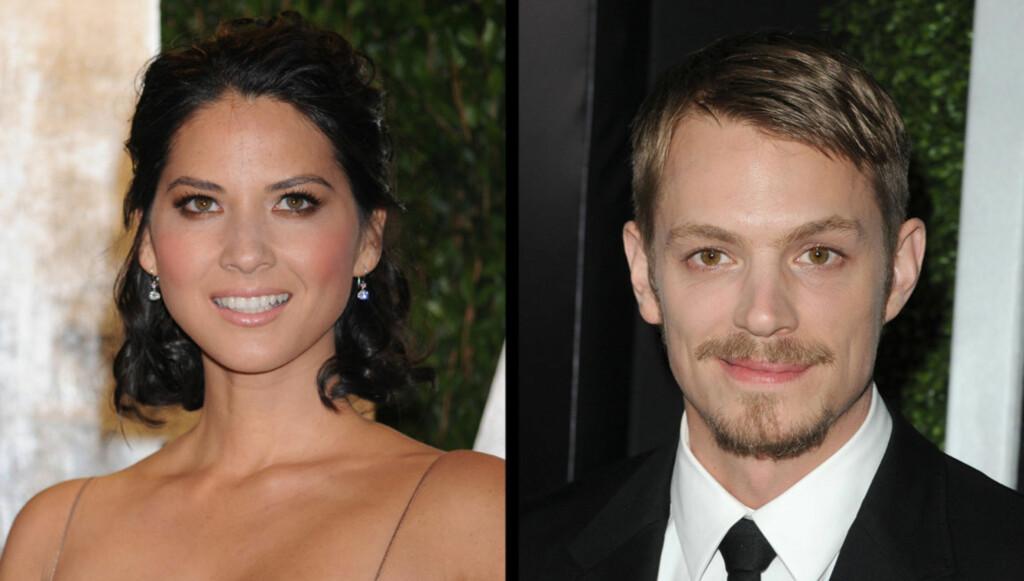 NYTT PAR: Skuespillerne skal ha funnet tonen, to måneder etter at Munns forhold med eksen Brad Richards tok slutt. Foto: All Over Press