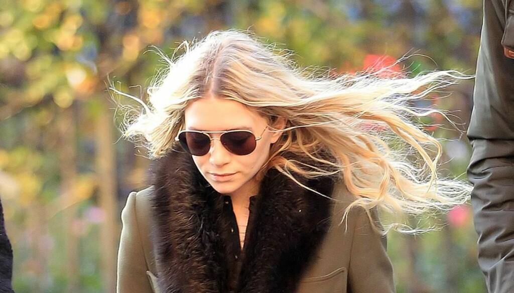 UNDER SAMME TAK - MED JOHNNY?: Ashley Olsen skal ifølge InTouch ha hatt Johnny Depp på overnattingsbesøk natt til 27. februar. Foto: All Over Press