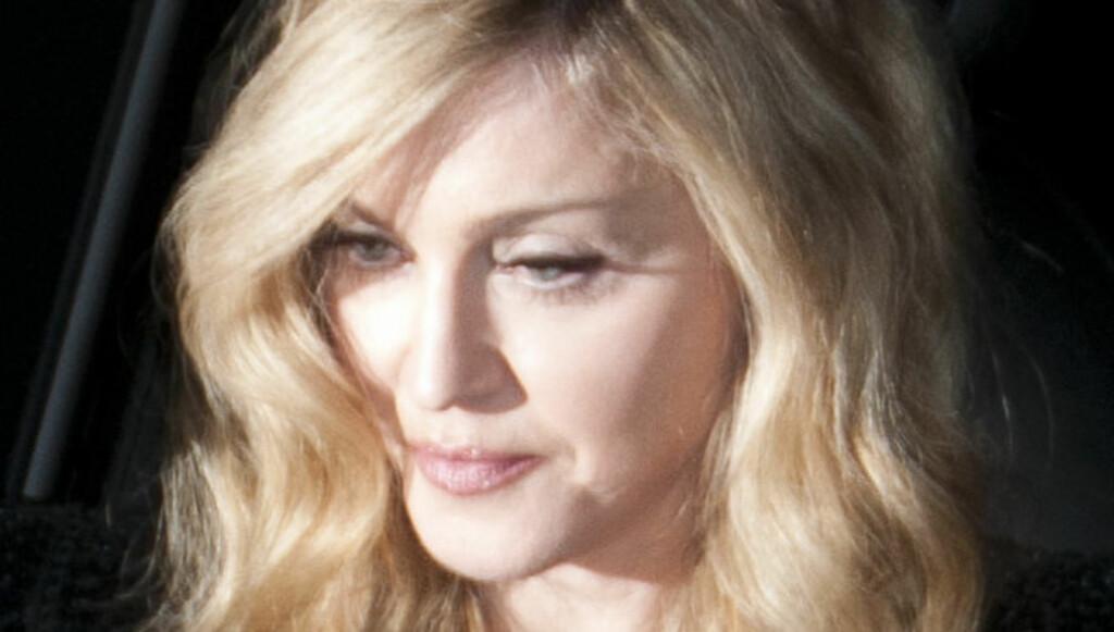 LURTE MORGAN OM GRAVIDITET: Madonnas forlegger løy angivelig til Piers Morgan for et tiår siden. Siden har hun vært bannlyst hos ham. Madonna svarer med samme mynt. Foto: All Over Press