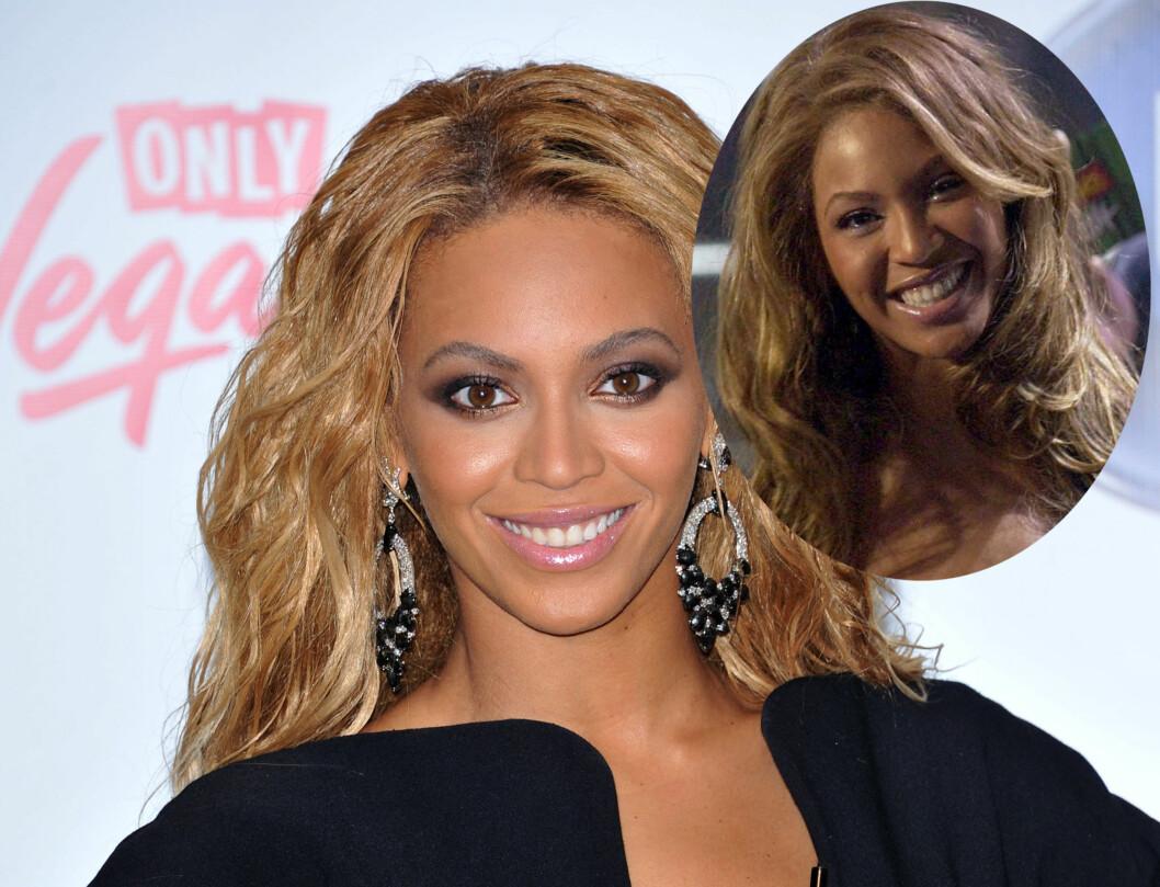 <strong>MINDRE:</strong> Beyoncé Knowles nese har blitt mindre med årene.  Foto: Stella Pictures