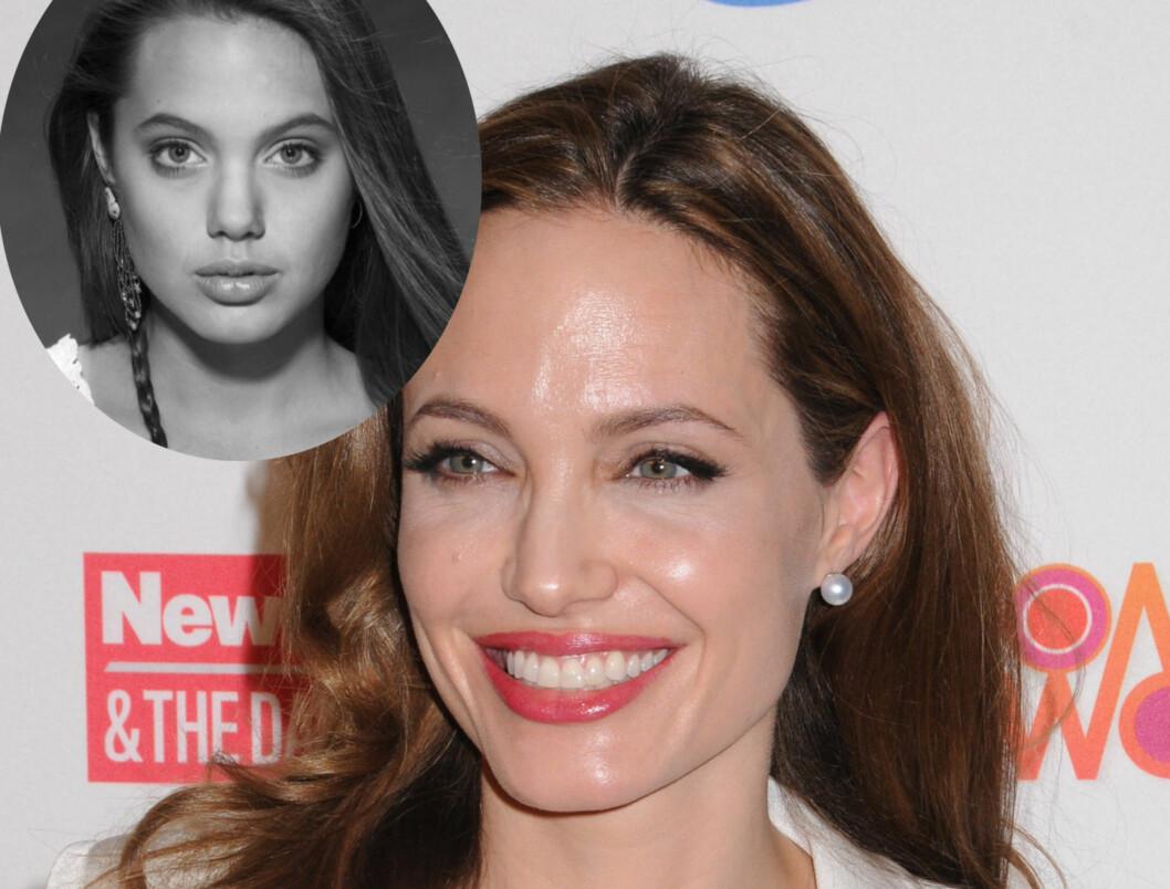 <strong>IKKE OPERERT:</strong> Kirurgen tror ikke vakre Angelina Jolie har operert nesen.  Foto: All Over Press