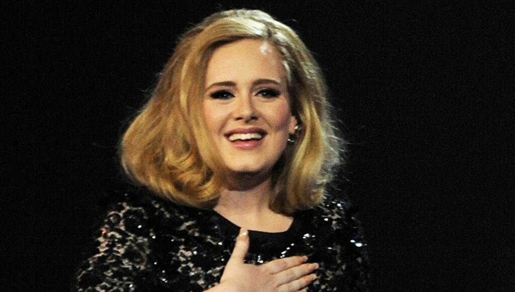 TIDLIG TALENT: Allerede som tenåring var det ifølge klassekamerater av Adele lett å se at hun ville bli den superstjernen hun er i dag. Foto: All Over