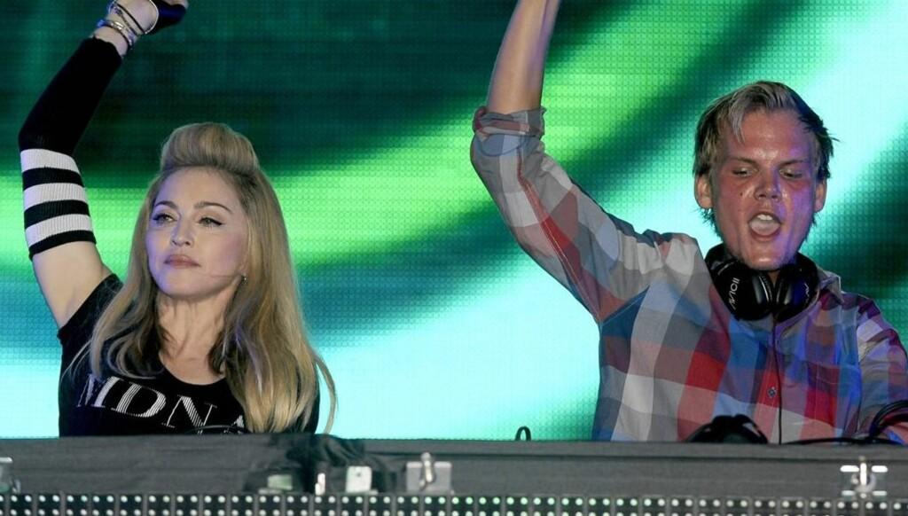 GA ALT: Madonna fikk fansen i ekstase da hun lørdag stod på scenen i Miami. Foto: All Over Press