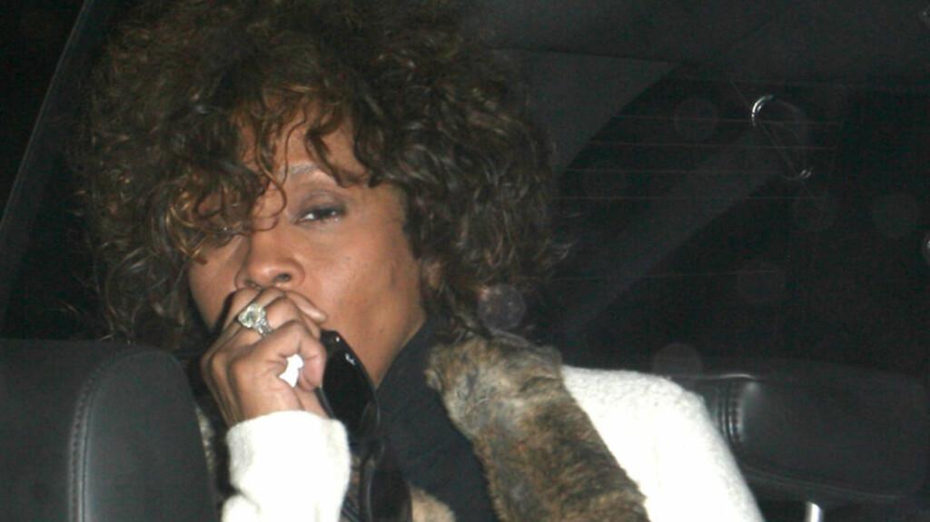SKJULTE MISBRUKET: Noen skal ha fjernet spor etter kokain fra Whitney Houstons hotellrom for å skjule omfanget av hennes rusmisbruk.  Foto: STELLA PICTURES