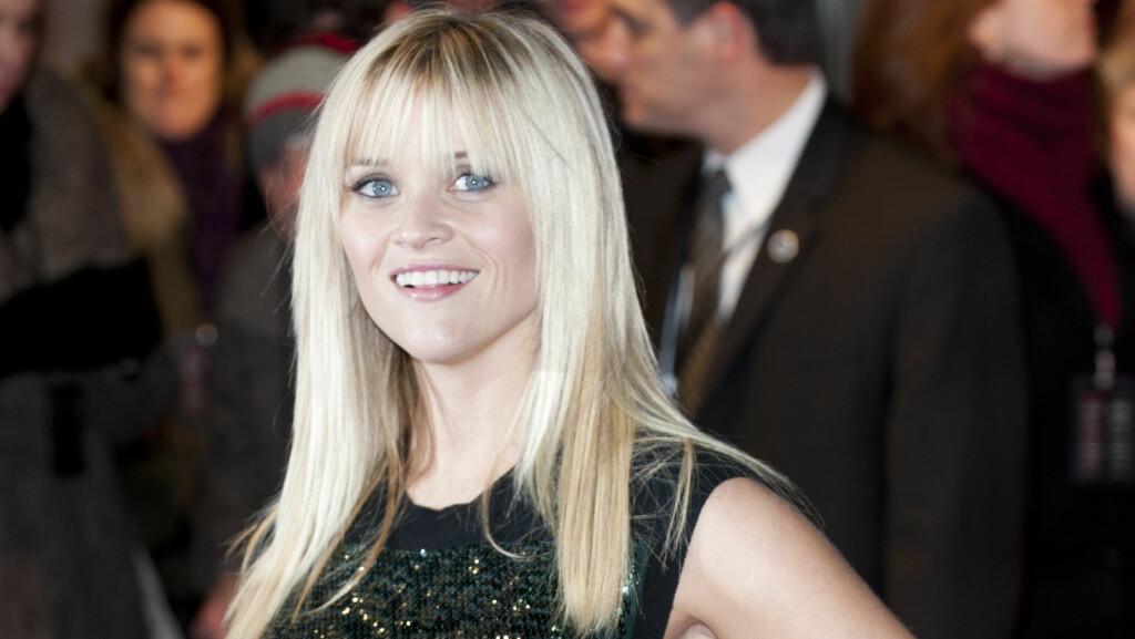 GRAVID: Reese Witherspoon venter sitt tredje barn og skal være 12 uker på vei.  Foto: Stella Pictures