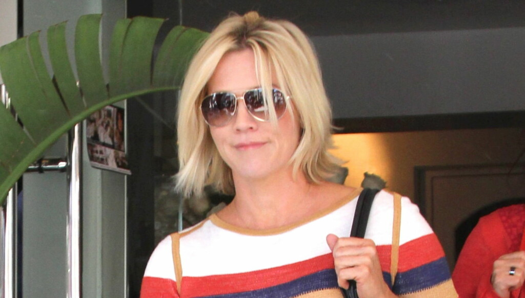 GALSKAP: Jennie Garth holder for tiden på med innspillingen av TMC-serien «Jennie Garth: Little Bit Country», og forteller at livet etter bruddet med ektemannen er «litt galskap».  Foto: All Over Press