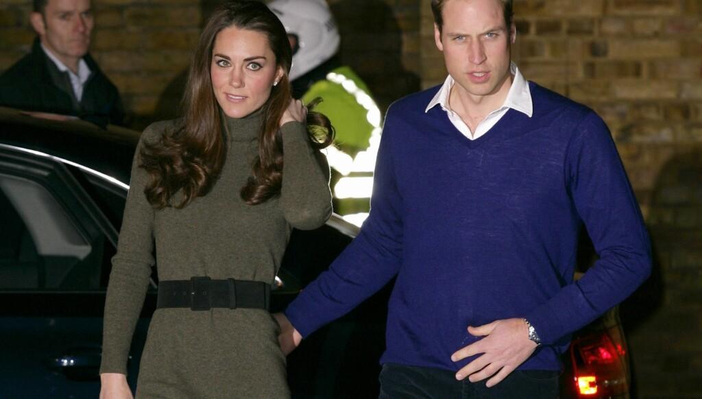 HJEM FRA OPPDRAG: Prins William er tilbake fra Falklandsøyene.  Foto: All over press
