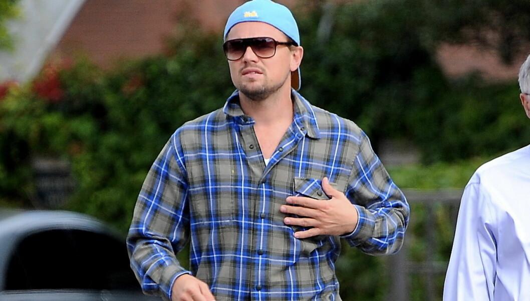 DÅRLIG HYGIENE: Leonardo DiCaprio skal være så opptatt av å bevare miljøet at han dropper deodorant og kun dusjer et par ganger i uka. Foto: All Over Press