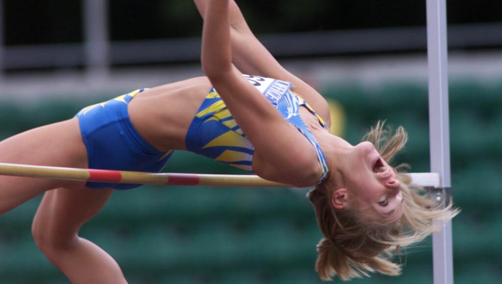 IDRETTSSTJERNE: Kajsa Berqvist er en av Sveriges fremste idrettsutøvere og har blant annet vunnet VM-gull og OL-bronse i høydehopp. Foto: Scanpix