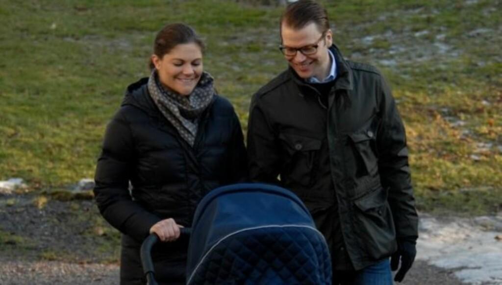 OMSTILLING: Likevel innrømmer kronprinsessen at livet med Estelle har vært en omstilling. Foto: Kungahuset.se