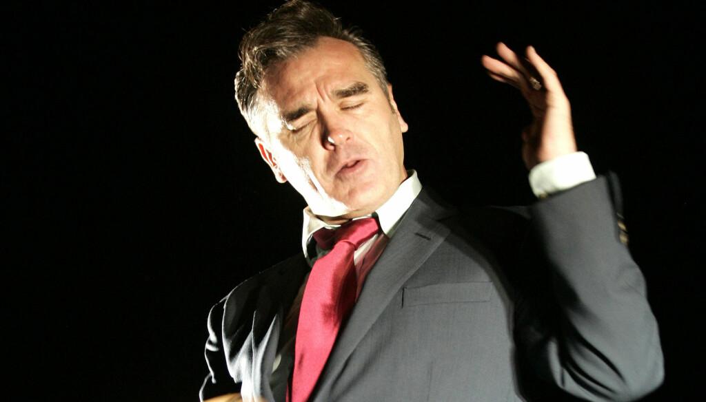SETTER SINNENE I KOK: Morrissey langet ut mot prins William og hans kone Kate Middleton i Argentina. Det har ført til mange sinte reaksjoner i hans hjemland. Foto: Stella Pictures